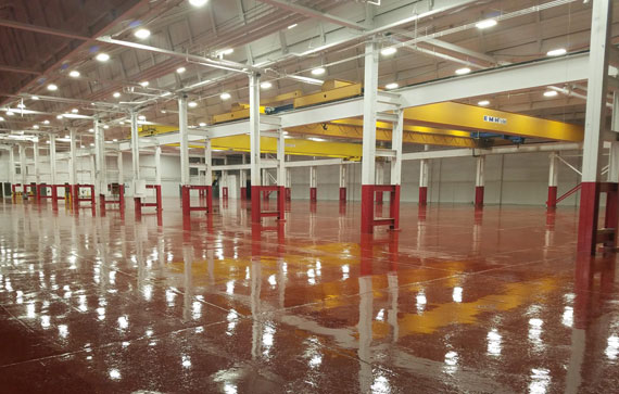 Acutec Floor 2 Manufacturing Space by EPACC