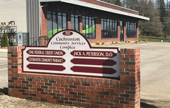 Cochranton Community Services Complex Outside