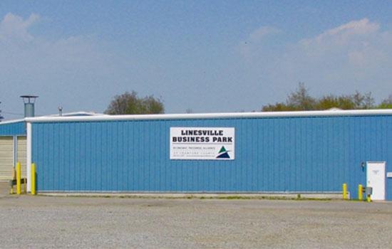 Linesville Business Park Exterior